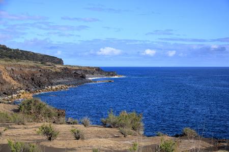 Beautiful Isla Faial at the Azores (Portugal)