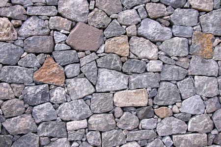 Muro di pietra naturale come sfondo
