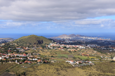 Caldera de Bandama - a place where used to be a volcanic crater in Gran Canaria in Spain