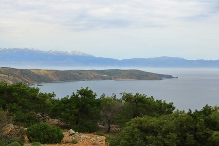 Images from a beautiful island called gavdos, the most southern island of Europe Stockfoto