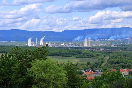 Coal Fired Power Plant near Most in Czech republic