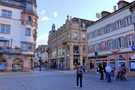 July 06 2020 - Landau in der Pfalz, Germany: View in the City of Landau in the palatinate Editorial