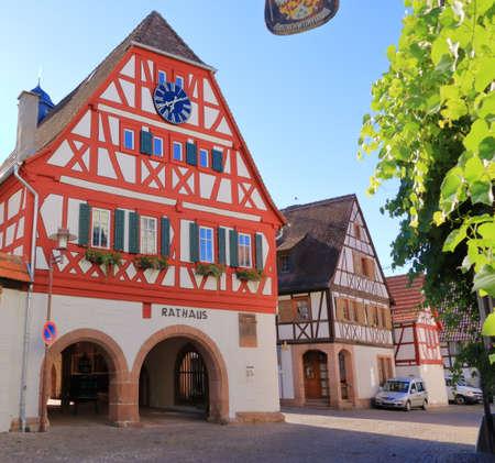 July 05 2020 - Ilbesheim, Germany: A town in the southwestern German Rhineland-Palatinate