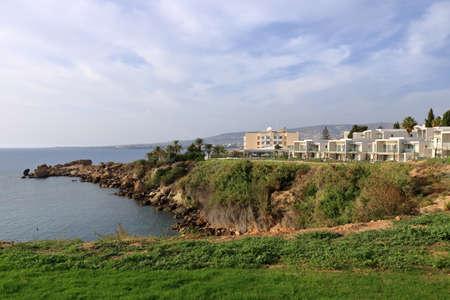 Atlantica Mare Village tourist resort in Paphos at Cyprus