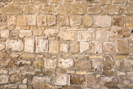 Background of a decorate sand stone wall surface