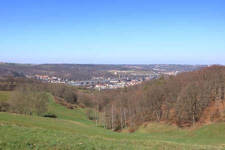 Old Steel factory industry in Freital near Dresden
