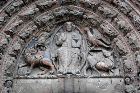 church door close up