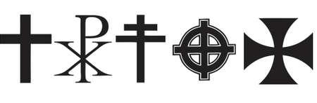 germanic: crosses Illustration