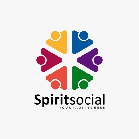 the social humanity logo icon