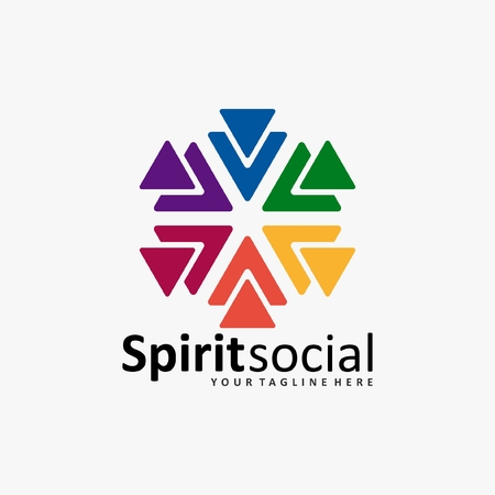 humanity: the social humanity logo icon