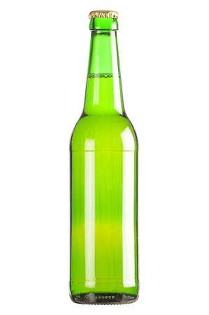 Lager beer bottle glass photo