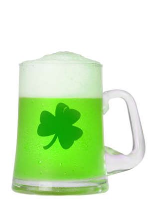 mug of cool drink for St. Patrick Stock Photo - 4353532