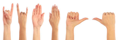 fanaticism: Female hands counting
