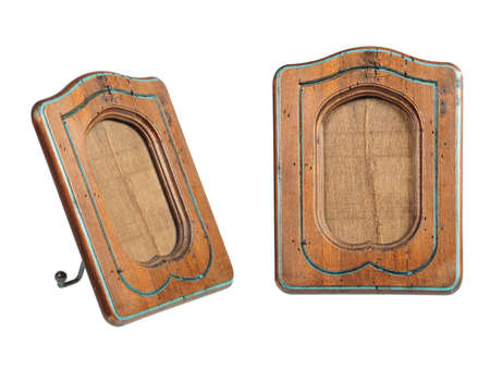 rounded rectangle: old-fashion wooden frame of rounded rectangle form