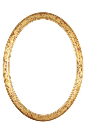 gild: isolated decorative frame