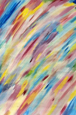 varicoloured: Fondo abstracto multicolor de bocetado trazos de pincel