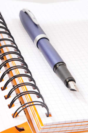 notebook and pen Stock Photo - 9054767