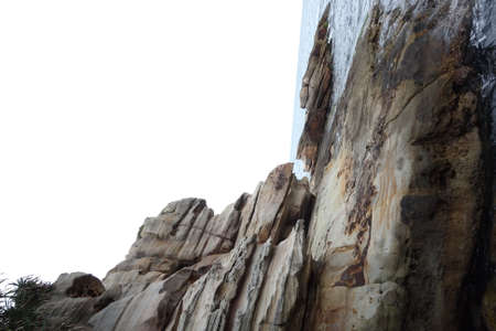 seaside rock Stockfoto