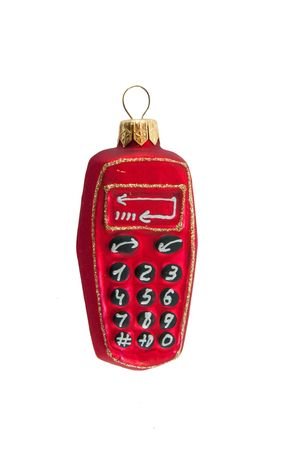 the turn of the year: The picture of funny christmas toy phone
