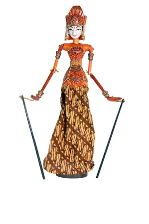 wayang: The picture of cute Puppet from Bali