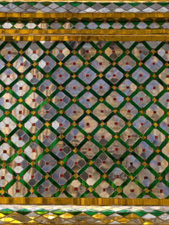 king palace: details of the King palace of Thailand Stock Photo