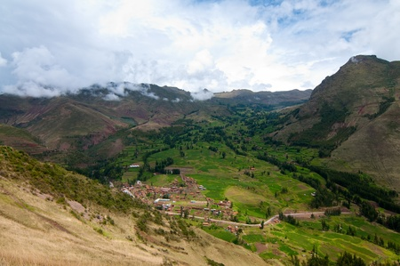 pisac: Mountain view, Pisac Peru