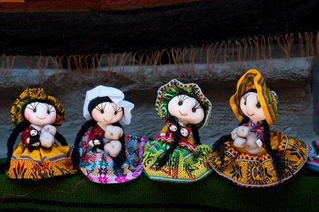Beautifull dolls from Peru photo
