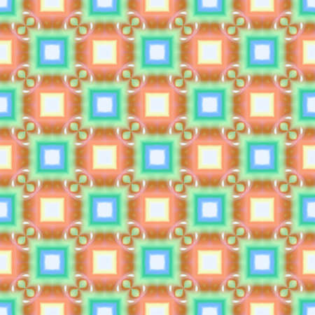 checked: Abstract colorful checked pattern. Texture background. Seamless illustration.