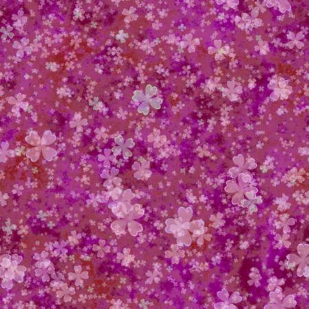 cloverleaf: Abstract purple cloverleaf pattern.  Texture background. Seamless illustration.