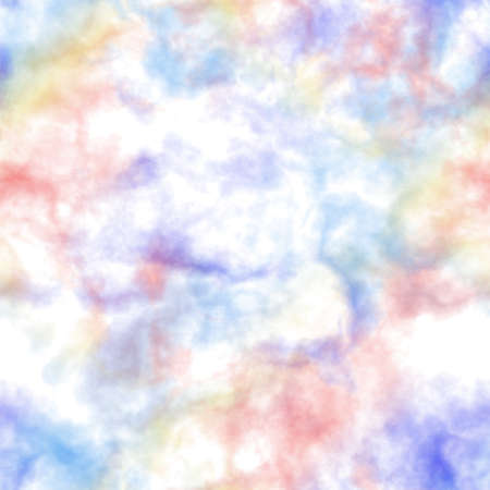 fog foggy: Abstract colorful smoke on white background.  Blue and red clouds.  Cloudy pattern. Blurry gas. Steam. Fog.  Foggy texture background. Seamless illustration. Stock Photo