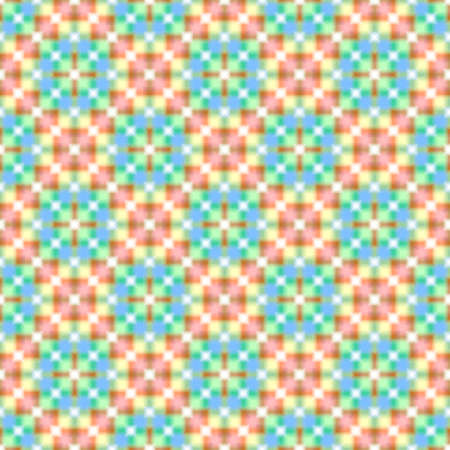 checked: Abstract colorful mosaic pattern. Multicolor checked texture background.  Seamless illustration.
