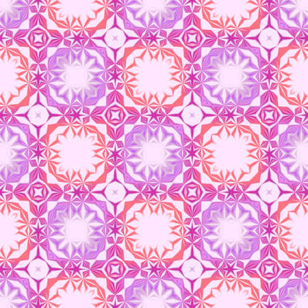 Abstract violet and red mosaic pattern. Texture background. Seamless illustration.