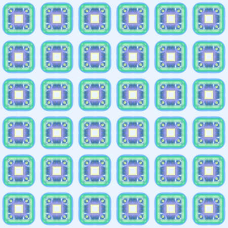checked: Abstract blue checked pattern. Texture background. Seamless illustration.
