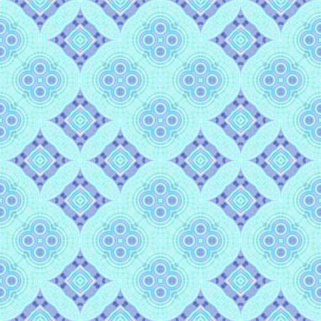 추상 파란색, 녹청 및 바이올렛 타일 패턴, 화려한 기와 질감 배경, 원활한 그림