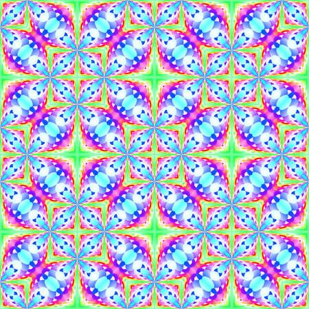 추상 빛 화려한 타일 패턴, 여러 가지 빛깔의 기와 질감 배경, 원활한 그림