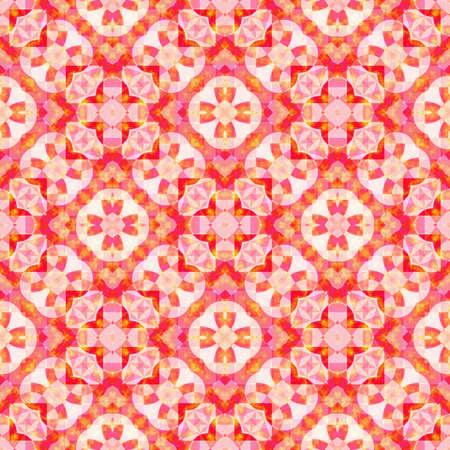 추상 붉은 꽃 패턴, 타일 질감 배경, 원활한 그림