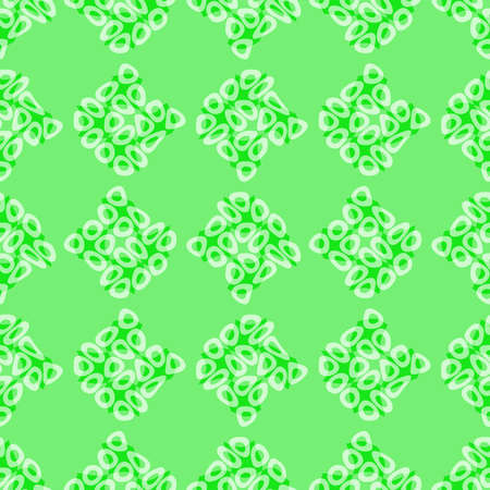 Abstract green tile pattern, Tiled texture background, Seamless illustration 版權商用圖片