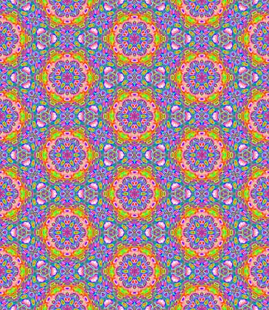 화려 하 고 여러 가지 빛깔의 타일 모자이크 패턴 질감 배경 그림을 완벽 하 게합니다. 스톡 콘텐츠