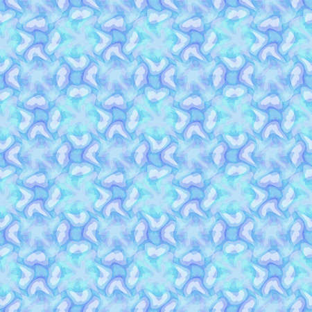 Abstract light blue tile pattern, Tiled texture background, Seamless illustration 版權商用圖片