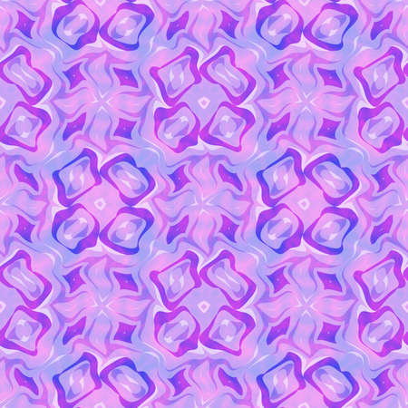Abstract violet tile pattern, Purple tiled texture background, Seamless illustration