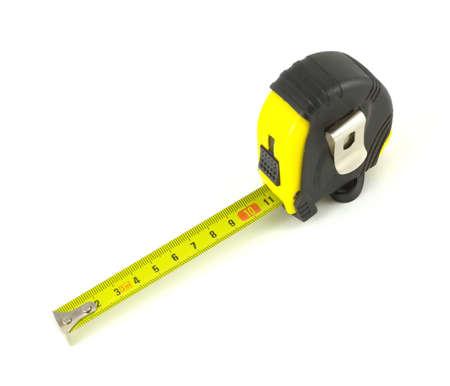 isoalated: Measuring tool isoalated on white background close up