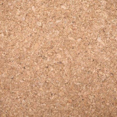 quadrate: Sandy brown eco friendly cork texture quadrate shape front view closeup