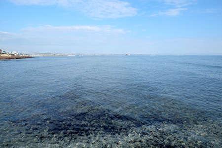 Calm clear water in the sea Banco de Imagens