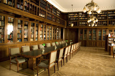 Library of Serbian National Assambly, Belgrade, taken 19.06.2012 Stock Photo - 14542825