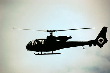 gazelle: Army Helicopter Gazelle on the air