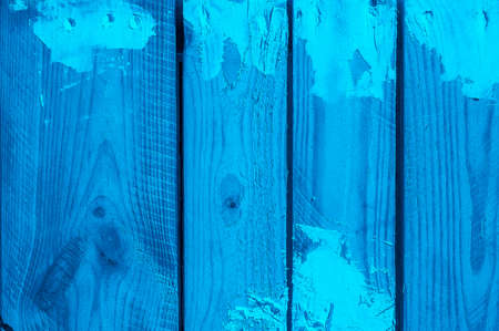 Grunge blue wooden texture suitable for background Stock Photo