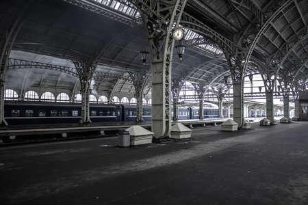 peron: Baltic Railway Station, St. Petersburg