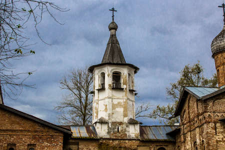 Church of the Archangel Michael and the Annunciation in Veliky Novgorod, Russia