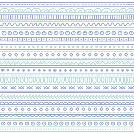 Tribal seamless texture. Vintage ethnic seamless backdrop. Boho stripes.