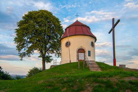 Proszowka village in the administrative district of Gmina Gryfow Slaski - Lower Silesian in south-western Poland